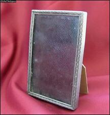 Antique Art Deco Mini Metal Photo Frame