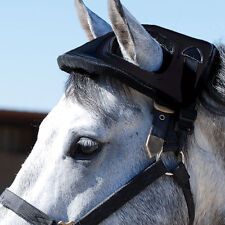 Cashel HORSE HELMET black prevent head injury trailer, vaccination, stall