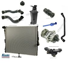 BMW E83 X3 04-06 Radiator KIT with Thermostat Sensor Recovery Tank & Water Pump