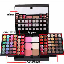 78 Color Women Makeup Palette Eyeshadow Blush Powder Lip Gloss Cosmetic Set Kit
