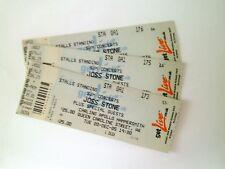 RARE Joss Stone Memorabilia - Unused Tickets Stubs Hammersmith London 20/12/05