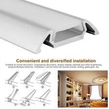10m LED Profil Aluprofil Aluminium Baguette Pour Rayures Éclairage Profile 10×1m