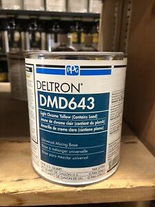 PPG DMD 643 Deltron DBU, DBC  Mixing Base  Chrome Yellow QT