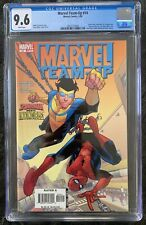 Marvel Team Up #14 - CGC 9.6 - Invincible and Spider-man Together - Low Print