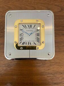 Cartier Santos Desk Clock