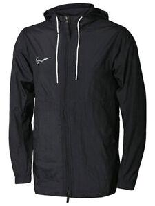 Nike Academy '19 Rain Jacket - Black -  Wind & Water Resistant