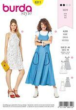 Kleid a linie burda
