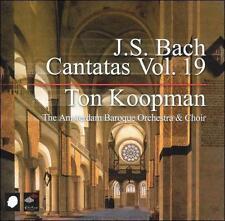 NEW J.S. Bach: Cantatas Vol. 19 (Audio CD)
