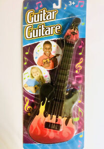 Toy Guitar / Guitare: Musical Toys for Children 3+ Help Develop Love of the Arts