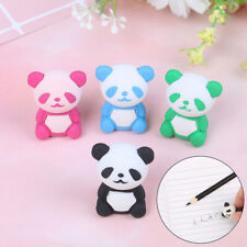 Funny Durable panda Pencil Eraser School Student Stationery Supplies kids Gif KW