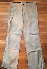 Mens American Eagle Outfitters cotton khaki Pants size 31 X 21  EUC