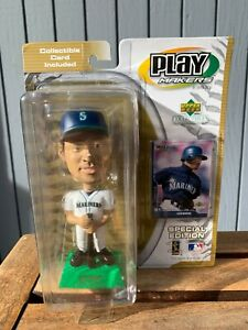 2002 ICHIRO Bobblehead Seattle Mariners Play Makers Upper Deck Limited Edition
