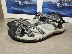 Keen Bali Strap Gray Sandals Womens Size US 10.5 Closed Toe