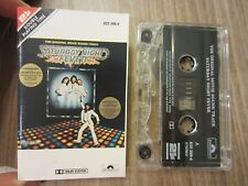 SATURDAY NIGHT FEVER '77 canadian POLYDOR cassette SOUNDTRACK tested TAPE EX