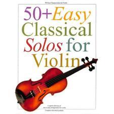 50+ Easy Classical Solos For Violin. Für Violine [Musiknoten]