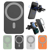 15W Car Chargers Mount Wireless Magnetic Mag safe for iPhone 12 Pro Max 12 Mini