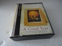 A Good Year by Peter Mayle (Audio cassette, 2004) Read Tim Pigott-Smith