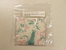 New ListingLongaberger 25704 Lily of the Valley Basket Liner. New In Unopened Pkg