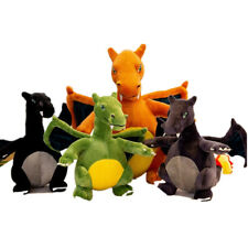 "Evolutive Winged fire-Breathing Dragon Stuffed Animal Plush Doll Charizard 12"""