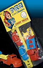 PEZ | Publicidad de la caja de la tarjeta del bolso 1996 incluido original ROCO MERCEDES caramelo carro 50 s 60 s