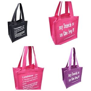 LITTLE LUNCH BAGS from 'These Bags are Great' - Good Size Jute Bag Gift