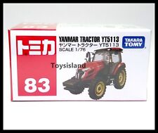 TOMICA #83 YANMAR TRACTOR YT5113 1/76 TOMY NEW DIECAST CAR