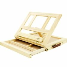 Drawing Table Portable Wooden Sketch Stand Desktop Laptop Easel Paint Supplies