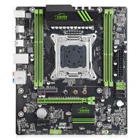 Jingsha X79 Motherboard M.2 E5 LGA2011 V2 Processor 2x DDR3 64GB PCI-E3.0 NVME