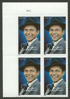 #4265 42c Sinatra, Plate Block [P1111 UL], Mint **ANY 4=FREE SHIPPING**
