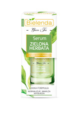 BIELENDA GREEN TEA Serum ANTI-ACNE ANTI-AGING VIT B3,C,E  lighten discolorations