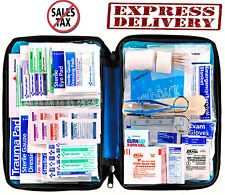 First Aid Kit Bag 299 Piece All Purpose Emergency Trauma Outdoor Travel Survival