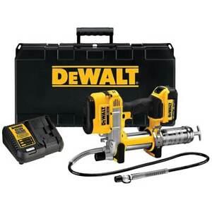 "DeWALT DCGG571M1 20V MAX Lithium Ion Automatic 42"" Grease Gun Tool Kit"