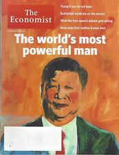THE ECONOMIST  OCTOBER 14 12017 THE WORLD'S MOST POWERFUL MAN NEW AND UNREAD