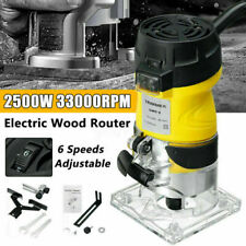 220V Fresatrice Verticale Elettrica Rifilatrice Fresa Legno Trimmer Router tool