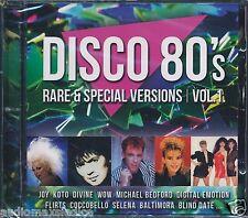 DISCO 80's RARE & SPECIAL VERSIONS Vol.1  [CD] Italo Disco