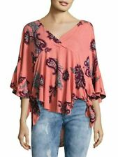 FREE PEOPLE MAUI WOWIE PASSION FLOWER TOP NWT! $78 S