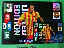 Champions League XXL messi 2013 14 Limited Edition Panini Adrenalyn raras