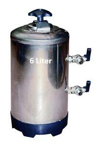 Entkalker 6 l Enthärter Wasseraufbereitung Ionentauscher Wasserenthärter