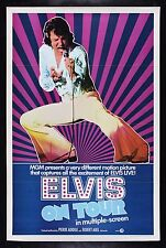 ELVIS ON TOUR * CineMasterpieces ELVIS PRESLEY 1972 LAS VEGAS MOVIE POSTER