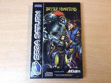 Sega Saturn - Battle Monsters by Acclaim