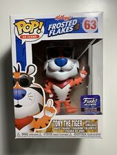 Funko Pop Icons Frosted Flakes #63 Tony The Tiger Funko Hollywood Exclusive
