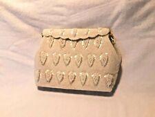 Vintage Evening Bag Vivant by Sarne Hand Beaded in Hong Kong Italian Beads