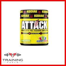 Kodiak Attack Pre Workout 250g 25 servings Energy Pump Focus