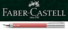 Faber-Castell AMBITION Füllhalter Edelharz OpArt Flamingo Füller pink rosa