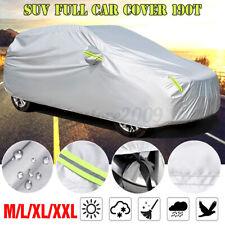 SUV Full Car Cover Waterproof Sun UV Snow Dust Rain Resistant Protectio
