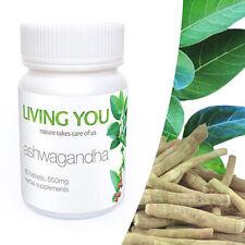 Ashwagandha - 60 tablets, Living You, Indian ginseng, Withania somnifera