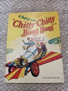 VTG 1968 Random House Chitty Chitty Bang Bang Pop-up Book 1st Ed. Ian Fleming