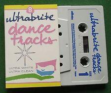 Ultrabrite Dance Tracks Jets Gap Band Sam Fox Mel & Kim + Cassette Tape - TESTED