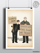 FATHER TED - Careful Now Minimalist Minimal Sitcom Poster Posteritty Fr Dougal
