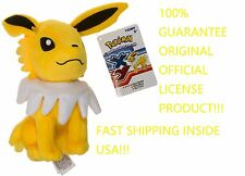 "JOLTEON Eevee Pokemon Eeveelution 100% OFFICIAL TOMY Licensed 9"" Plush w/Tags"